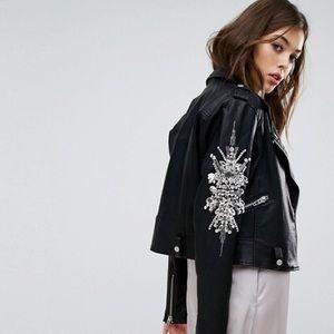 Blank NYC Jackets & Coats - BLANK NYC VEGAN LEATHER JACKET